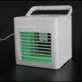 Kép 2/6 - AirCooler USB-s asztali ventilátor, léghűtő és párásító, 260 ml tartály, 5W