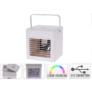 Kép 5/6 - AirCooler USB-s asztali ventilátor, léghűtő és párásító, 260 ml tartály, 5W