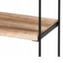 Kép 3/4 - 3 szintes falra szerelhető erős fém tároló állvány