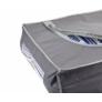 Kép 3/5 - Nagyméretű Ágyneműtartó zsák, 105 x 45 x 16 cm, szürke