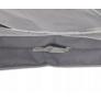 Kép 4/5 - Nagyméretű Ágyneműtartó zsák, 105 x 45 x 16 cm, szürke