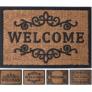 Kép 1/4 - Welcome Kókuszrost lábtörlő, 40 x 60 cm