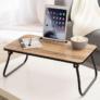 Kép 1/5 - Multifunkciós, összecsukható reggeliző tálca, telefontartóval
