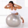 Kép 1/2 - QLife Yoga labda pumpával, 65 cm, szürke